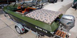 Motorboot Lotos Green mieten bei Bootsvermietung & Bootsverleih Berlin