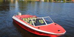 Motorboot Lotos Red mieten bei Bootsvermietung & Bootsverleih Berlin