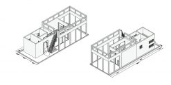 Hausboot mieten - Container Hausboot Spreeperle
