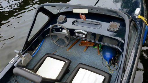 Motorboot Trainer 2 - GFK Sportboot mit Yamaha 40 PS Aussenbordmotor