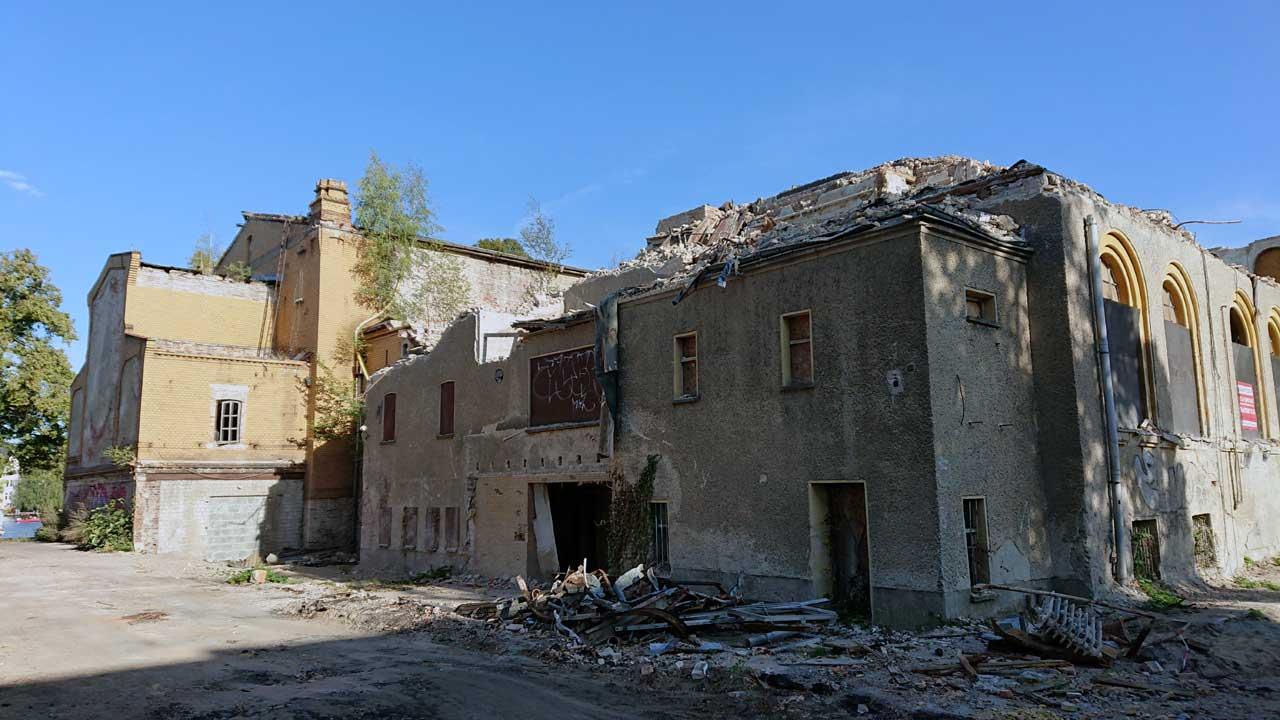 Gesellschaftshaus Grünau - Abriss Riviera