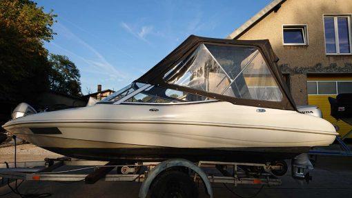 Motorboot Susi ▷ Motorbetrieb, Führerscheinfrei zu fahren, Stundenmiete - Spreeperle Bootsverleih Berlin & Bootscharter in Alt-Schmöckwitz